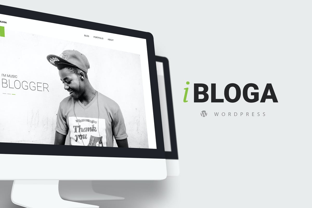 iBloga — Clean and Minimal Blog WordPress Theme