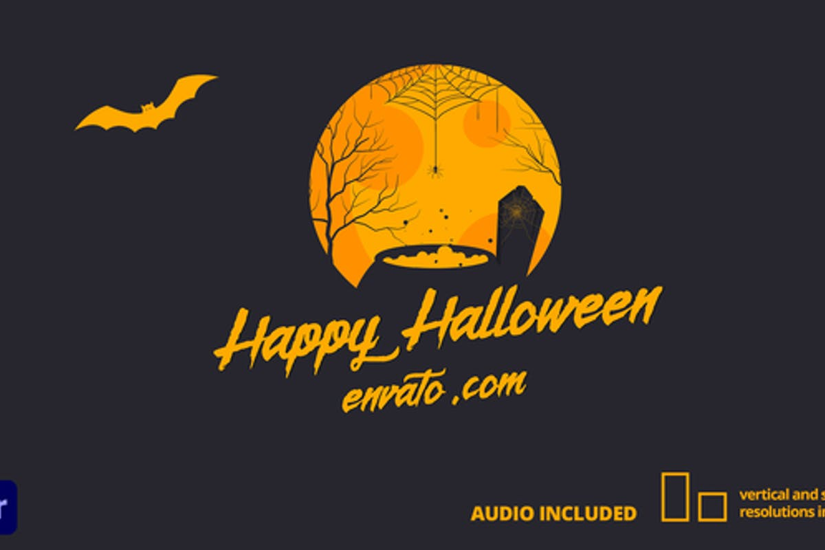 Halloween Card | For Premiere Pro