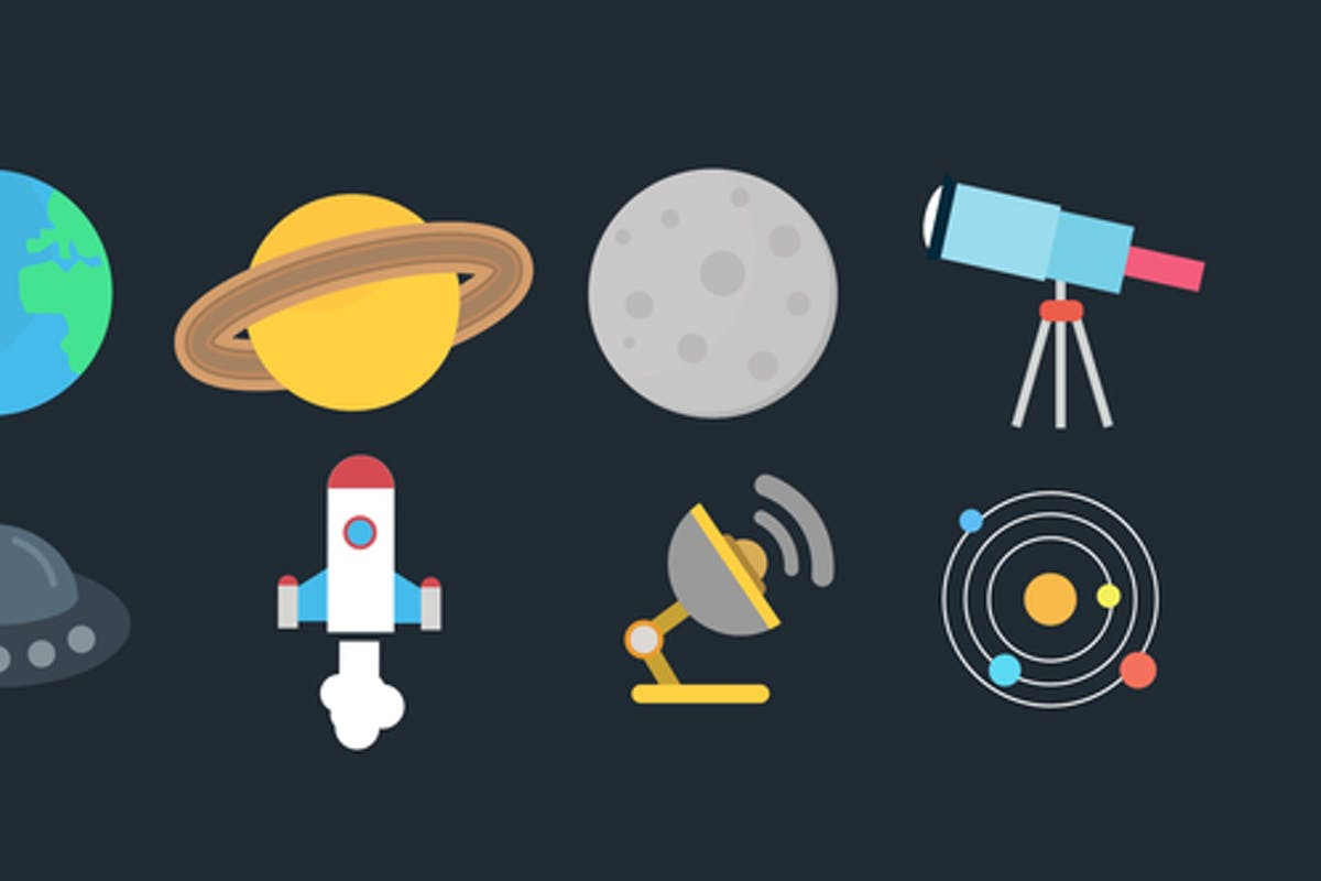 Space Icons Pack For Premiere Pro