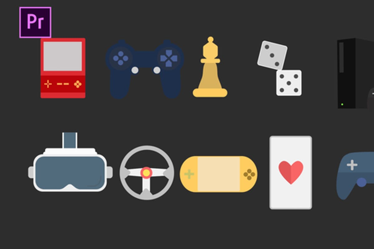 Gaming Icons For Premiere Pro