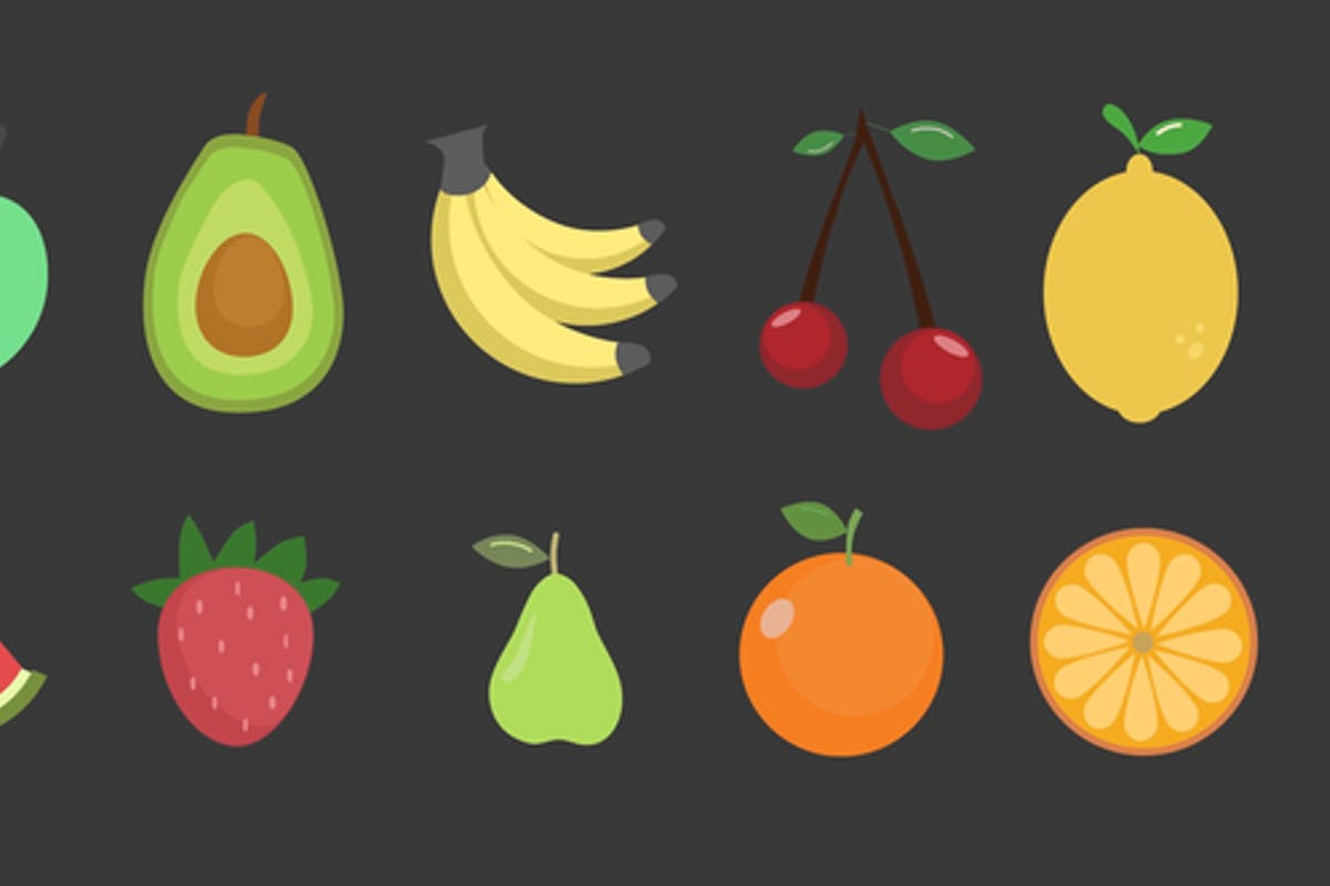 Fruits Icons For Premiere Pro
